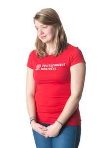 T-shirt Rouge (small) Femme Polytechnique